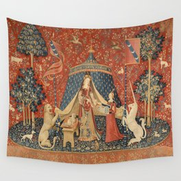 The Lady And The Unicorn Wall Tapestry
