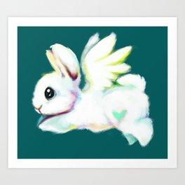 Rainbow Chip Art Print