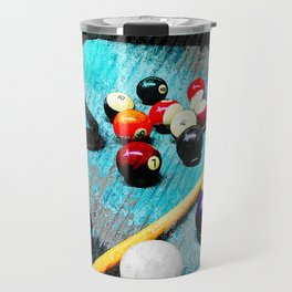 Billiard art and pool artwork 5 Travel Mug