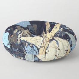 Graphic minerals Floor Pillow