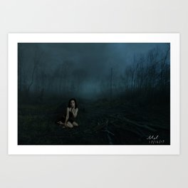 Image 2 - Lost in the Forest Art Print