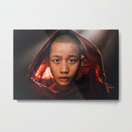 Buddhist Enlightenment Metal Print