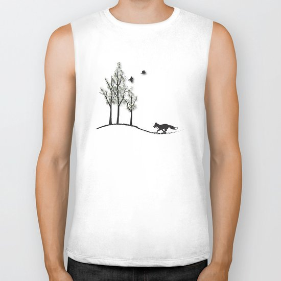 Fantasy Trees No. 2 Biker Tank