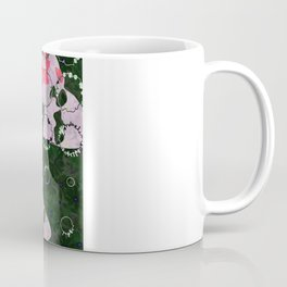 Flowers and Moths Coffee Mug