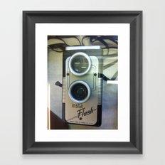 insta flash  Framed Art Print