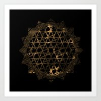 infinite Art Prints featuring Infinite by Zach Terrell