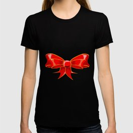 Isolated Red Ribbon T-shirt