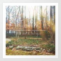 atlanta Art Prints featuring Atlanta by Dane Spearman