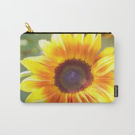 Watercolour Sunflower by Reay of Light Carry-All Pouch