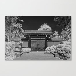 Japanese Tea Garden Gate, Golden Gate Park, San Francisco, California Canvas Print