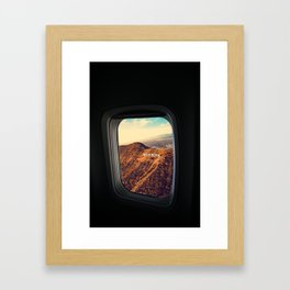 Bye bye american dream Framed Art Print