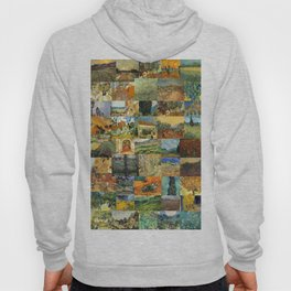 Vincent van Gogh Montage Hoody