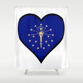 Love Illinois Shower Curtain