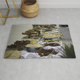 Catered Foods Rug