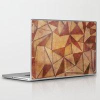 brown Laptop & iPad Skins featuring Brown by jbjart