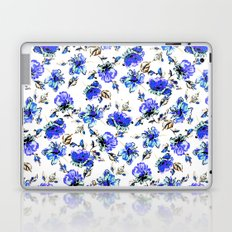 Watercolor Floral Pattern Laptop & iPad Skin