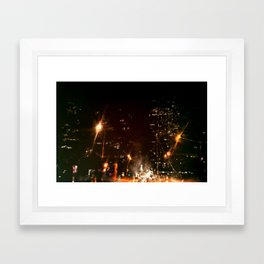 Lost in Some City No. 3 Framed Art Print