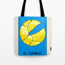 BB Loteria Card No.14 - The Knife Tote Bag