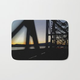 Westbound bridge Bath Mat