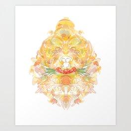 the big Om Art Print