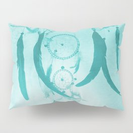 Aqua DreamCatcher Pillow Sham