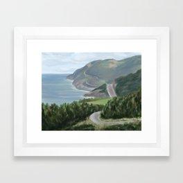Cabot trail 1 Framed Art Print