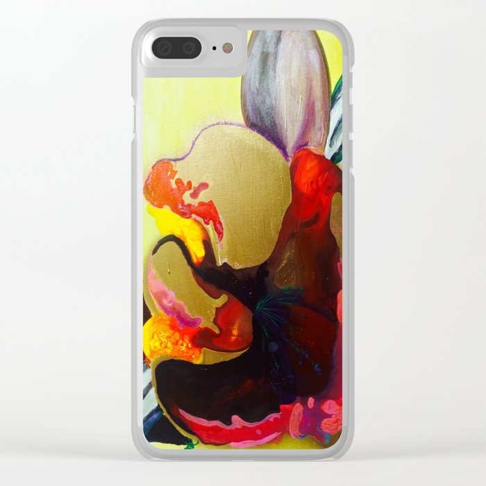 Burn The Flowers For Fuel Clear iPhone Case