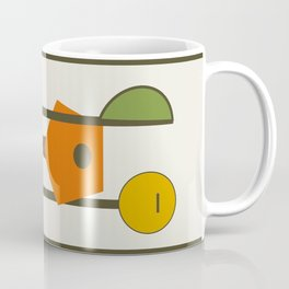 Mid-Century Modern Art Musical Strings Coffee Mug