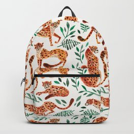 Cheetah Collection – Orange & Green Palette Backpack
