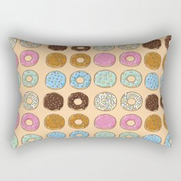 donut time Rectangular Pillow