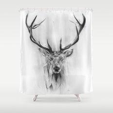 Red Deer Shower Curtain