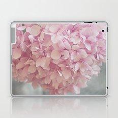 Delicate, pastel pink hydrangea flower Laptop & iPad Skin
