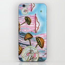 Bubble cats iPhone Skin