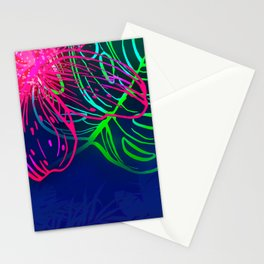Electric Luau Stationery Cards