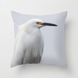 Model of Beauty Throw Pillow