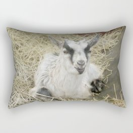 Billy Goat Rectangular Pillow