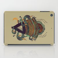 positive iPad Cases featuring Positive Thinking by Hector Mansilla