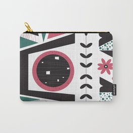Fresh Mojo Mid-Century Modern Contemporay Design Carry-All Pouch