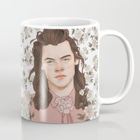 coconutwishes Mugs featuring H Pink by Coconut Wishes