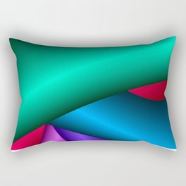 Three-dimensional simple beauty Rectangular Pillow