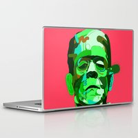 frank Laptop & iPad Skins featuring Frank. by Huxley Chin
