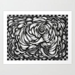 Headache_3 Art Print