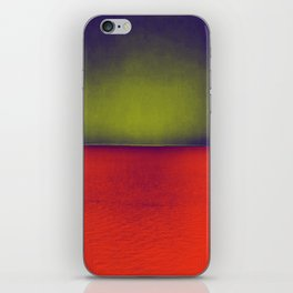 gradient horizon iPhone Skin
