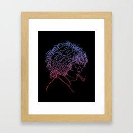 Bob Dylan Forever Young Framed Art Print