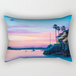 Cliff House On The Lower Bay Rectangular Pillow