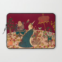 "The Lady is the Unicorn ""Desire""  Laptop Sleeve"