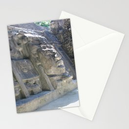 Mask Temple Stationery Cards