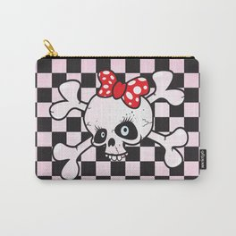 girl power skull Carry-All Pouch