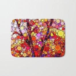 Planting Cherry Trees Bath Mat