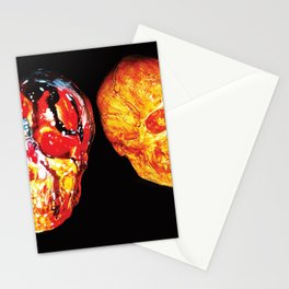 2 Skull Stationery Cards